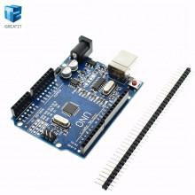 Микроконтроллер UNO R3 MEGA328P CH340G для Arduino (1 шт.) #1:65