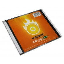Диск CD-RW VIDEX 700 MB 4-10X SLIM