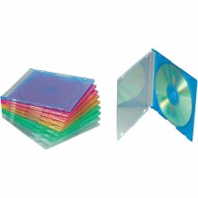Коробка CD-BOX slim (цветной) (1 шт.)