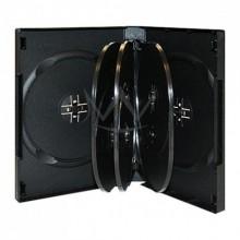 Коробка CD-BOX черный на 12 дисков черный (1 шт.)