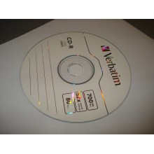 Диск CD-R Verbatim 700 MB 52X (1 шт.)