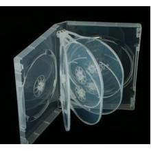 Коробка CD-BOX на 8 дисков прозрачный (1 шт.)