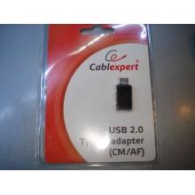 Переходник Type-C to USB AF Cablexpert (A-USB2-CMAF-01)