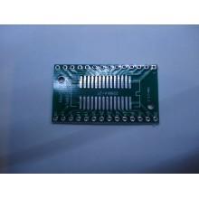 Макетная плата переходник SOIC-SSOP28 на DIP28(шаг 2.54)