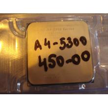 Процессор DualCore AMD A4-5300, 3400 MHz + Radeon HD 7480D +, sFM2 / FM2 + б/у