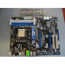 Материнская плата ASRock 870 Extreme3 + процессор  Athlon II  adx 2400ck230q б/у