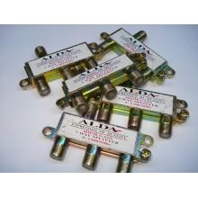 Сплиттер (Splitter) ТВ 3-way, корпус металл , Alda