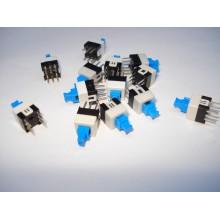 Кнопка переключатель выключатель ON OFF MPS-700D 6 pin 7х7мм, с фиксацией
