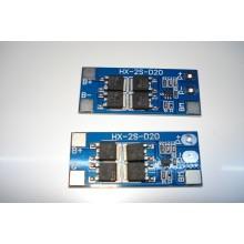 BMS контроллер заряда-разряда для 2-х Li-Ion аккумуляторов 18650 HX-2S-D20 13 / 20A 7.4V