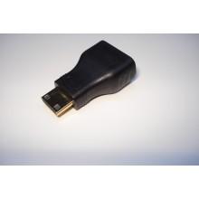 Переходник HDMI C (mini) M to HDMI AF Vinga (MINIHDMI-01)