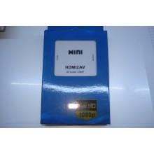 Конвертер адаптер из HDMI на AV тюльпаны RCA переходник