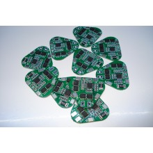 BMS контроллер для 3-х Li-Ion аккумуляторов 18650 HX-3S-3 августа / 12A 11.1-12.6V