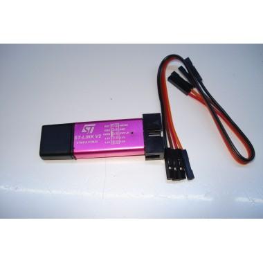 USB программатор отладчик ST-LINK V2 для STM8 STM32. В*27