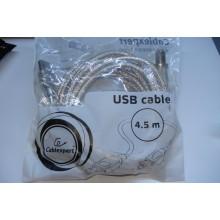 Кабель для принтера USB 2.0 AM / BM 4.5m Cablexpert