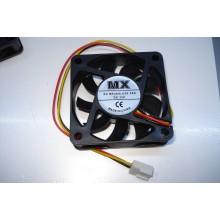 Вентилятор MX-6015 60 x 60 x 15 mm, 12V, 0.18A, 3 провода