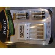 Зарядное устройство Jiabao JB-212 для аккумуляторов AA пальчиковых, емкость 2500-4500mAh