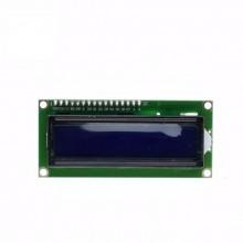 ЖК-дисплей LCD 1602 синий + переходник I2C для дисплея 1602 #4:32