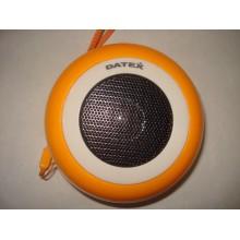 Портативная колонка акустика Datex DSM-03 (цвет: синий, оранжевый, красный - на выбор) (1 шт.)