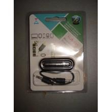 Bluetooth приемник аудио ресивер Music Reciver HJX-001 (BT530) Black