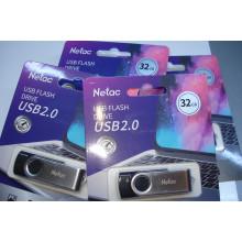 USB флэш накопитель Netac 32GB U505 USB 2.0 (NT03U505N-032G-20BK)