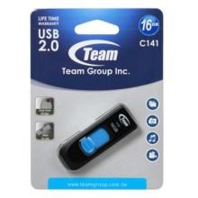 USB флеш накопитель Team 16GB C141 Blue USB 2.0 (TC14116GL01)