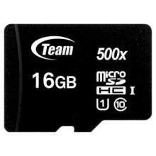 Карта памяти Team 16GB microSDHC class 10 UHS-I (TUSDH16GCL10U02)