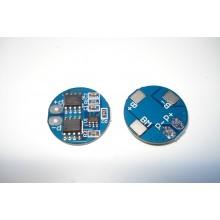 BMS контроллер для 2-х Li-Ion аккумуляторов 18650 HX-2S-A2 5A 7.4V
