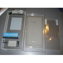 Чехол для моб. телефона Melkco для Nokia Lumia 540 Poly Jacket TPU Transparent