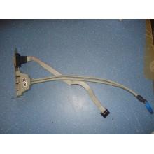 Колодка косичка USB (2 разъема) + Com порт