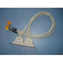 Колодка косичка USB (2 разъема) +  IEEE 1394