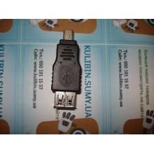 Переходник USB на штекер mini USB