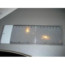 Линза френеля линейка 5х 70мм*19мм*1мм (1 шт.)