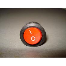 Кнопочный выключатель, диаметр 20.3 мм, красный, без подсветки KCD105 (1 шт.)