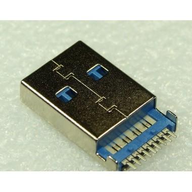 U313 USB 3.0 9pin Разъем, Роз'єм, штекер, вилка питания зарядки папа для флешки, модема