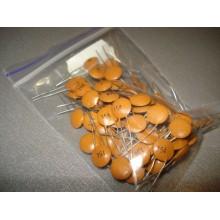 Конденсатор керамический дисковый КД-2 0,15 мкф 50 в 0.15 mkf 50v 0,15 50 (1 шт.) #G16