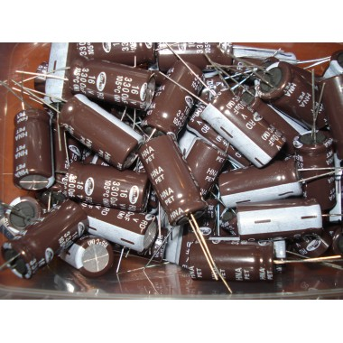 Конденсатор электролитический 3300 uF 16 V, 105°C, d13 h21/ELZET/серия: CD263; -40°...+105°C (1 шт.) 3300 16 #5:43