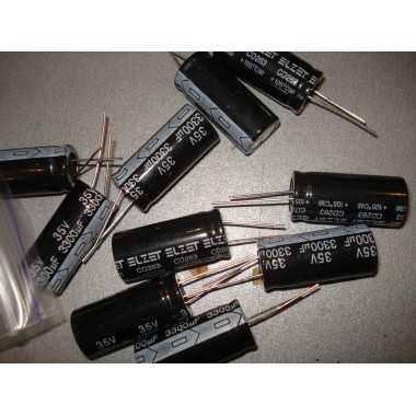 Конденсатор электролитический 3300 uF 35 V, 105°C, d16 h32/Teapo/серия: SH (1 шт.) 3300 35 #5:60