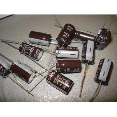 Конденсатор электролитический 330 uF 50 V, 105°C, d10 h17/SAMWHA/серия: RD (1 шт.) #5:3 330 50