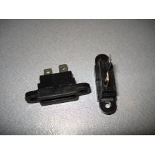 Держатель предохранителя автомобильного (19 мм) приборный с крышкой ZG-701(1 шт.) #1:59