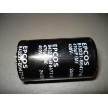 Конденсатор  470 mkF 400V 400В 470мкФ (1 шт.) 470 400 демонтаж