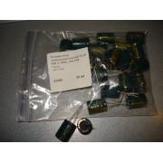 Конденсатор электролитический 33 uF 400 V, 105C, d13 h18/Chongx/-40C+105C (1 шт.) #Q8 33 400