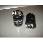 Конденсатор электролитический 220 uF 450 V 105C d25 h35 (1 шт.) 220 450 #5:27