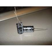 Конденсатор электролитический 1000 uF 25 V, 105C, d10 h17 (1 шт.) 1000 25 #5:61