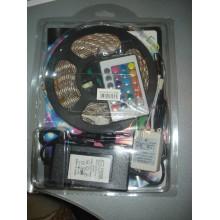 Светодиодная LED лента 5050 RGB полный комплект 5 метров
