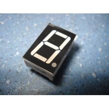 Семисегментный 7 сегментный светодиодный индикатор 1 разряд 0,56', красный, общ. анод. (1 шт.) #1:82