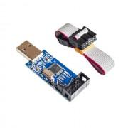 USB ISP Программатор для ATMEL AVR ATMega, ATTiny, 51, угловой разьем