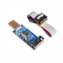 USB ISP Программатор для ATMEL AVR ATMega, ATTiny, 51, угловой разъем (1 шт.) #вит27