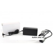 Адаптер блок питания 12V 6A пластик + кабель разъём 5.5*2.5mm и 4.0x1.7mm (1 шт.)