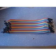 Провод dupont папа-мама шина Arduino (1 шт.) #1:50