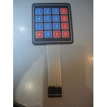 Мембранная клавиатура 4*4 (arduino, stm, avr, pic)